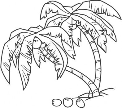 palm trees coloring pages and palms on pinterest