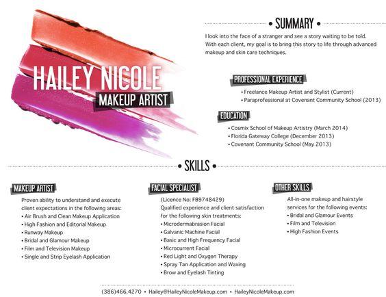 artist resumes makeup artist resumes makeup artist resume sample