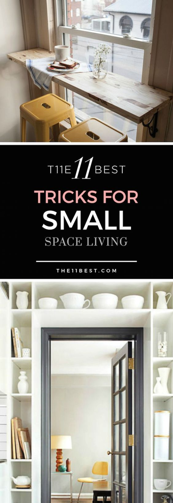 Tips and tricks, Small spaces and Spaces on Pinterest