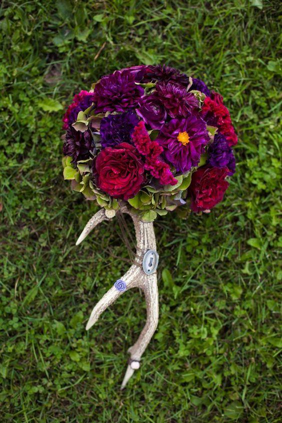 Romantic and Rustic Woodland Wedding Romantic, The