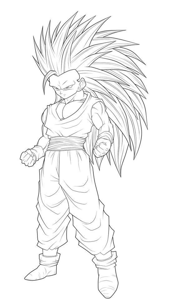 goku dragon ball and coloring pages on pinterest