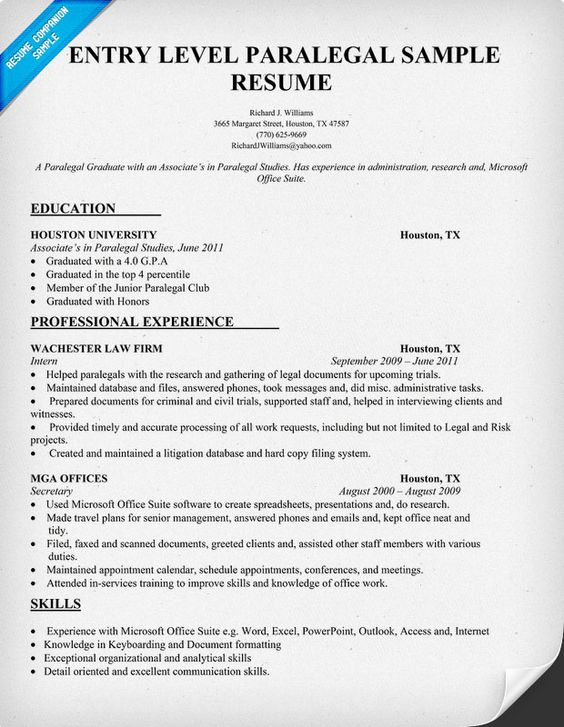 sample paralegal resume sample paralegal resume job interviews