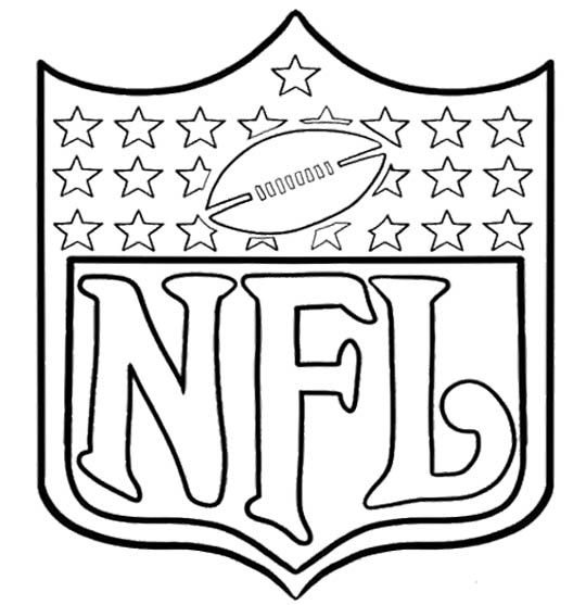 coloring pages nfl football and football on pinterest