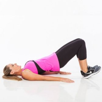 Image result for Heel Bridge exercise