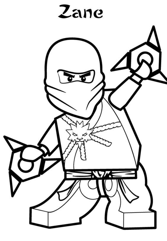 ausmalbild ninjago – ausmalbilder für kinder  matti