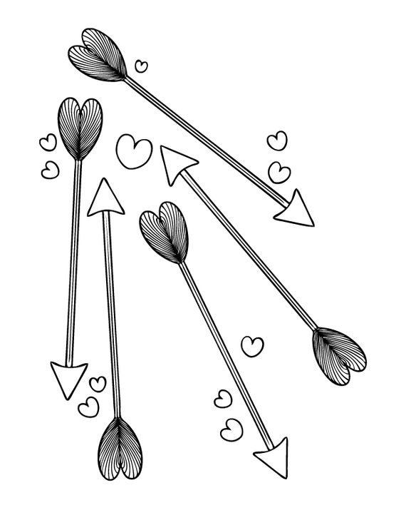 coloring pages coloring and arrows on pinterest