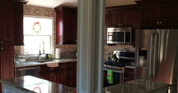 T Shaped Kitchen Layout