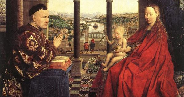 Baroque Painting Jan Van Eyck