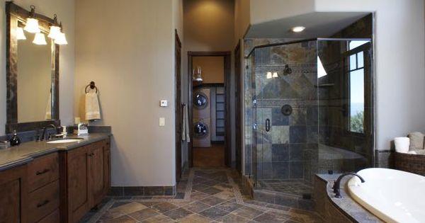 Slate Flooring Pictures Gold Blush Slate Tile Bathroom Floor Ideas For The House Pinterest