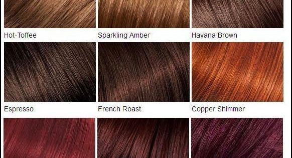 All Feria Hair Color Chart