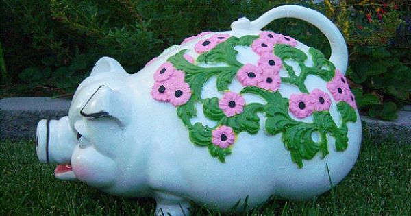 Extra Large Adorable Piggy Bank Floor Model By