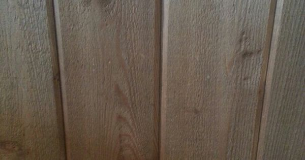 Stained Rough Sawn Cedar Paneling Country Store Pinterest Cedar Paneling Basements And