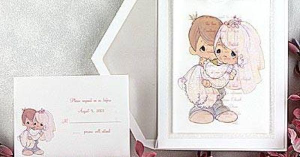 Precious Moments Wedding Invitations