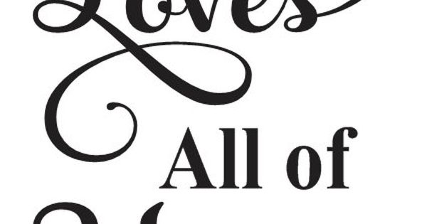"""Download Primitive Love STENCIL**All of Me Loves All of You**12""""x18 ..."""