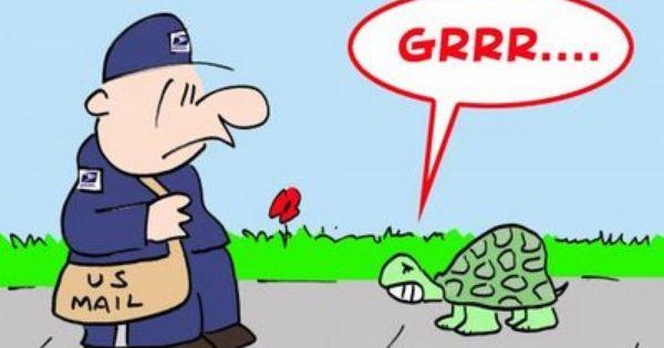 Mailman And Jokes Cartoons