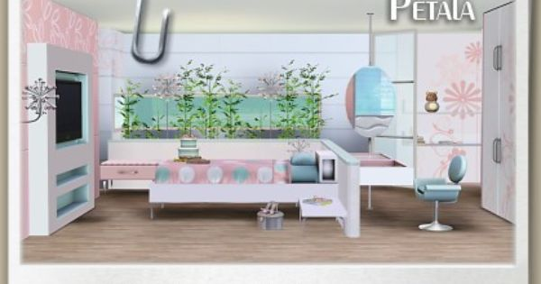 Designs 3 Top Quality Content For Sims Pétala Kids Room