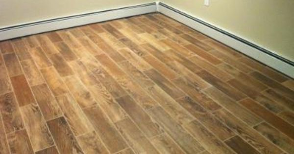 Style Selections Natural Timber Cinnamon Glazed Porcelain