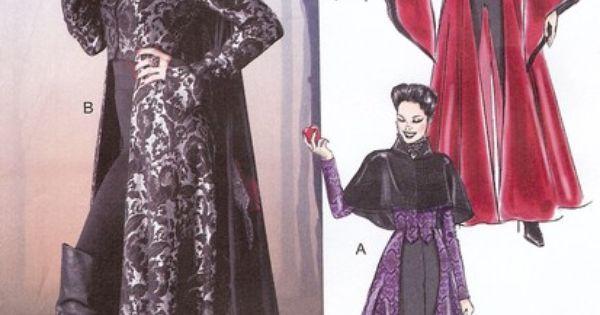 Details About Evil Queen Costume PATTERN McCalls 6818 Sz 4