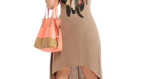 Plus Size Cowgirl Hi Low Dresses