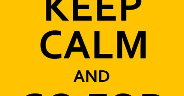 Keep Calm And Go For Seven Steelers