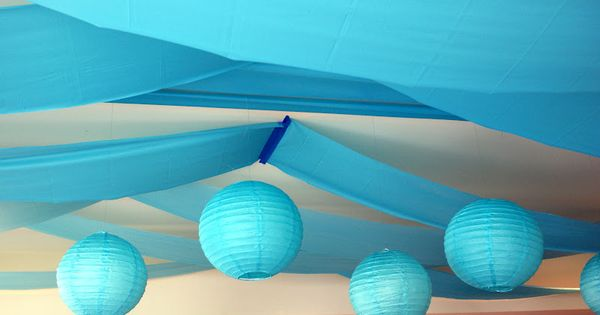 Ceiling Create Streamers Party