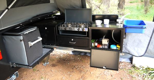 Tailgate Kitchen Expedition Vehicle Inspiration