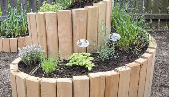 Raised Vegetable Garden Sleepers