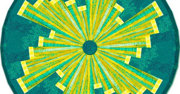 Degree Pattern 10 Wedge Ruler Tree Skirt