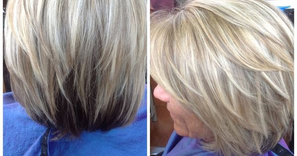 Best Highlights To Cover Gray Hair Image