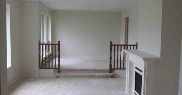 Railings Sunken Living Rooms