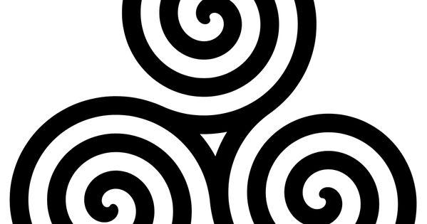 Female Power Celtic Symbol