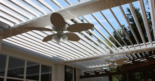 Louvered Pergola Adjustable Slats That Are Moveable