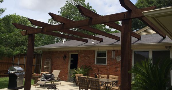 Pergola Attached To Roof Specialty Roof Brackets From