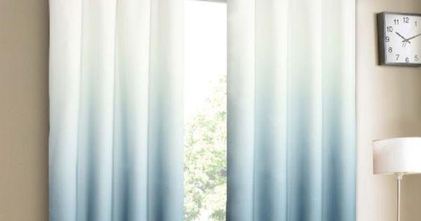 Amazon.com - Blue Ombre Curtains $30