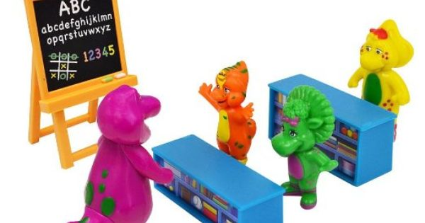 Barney Toys Friends And Playset