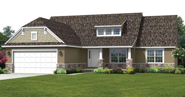 Ranch House Floor Plans: The Camden