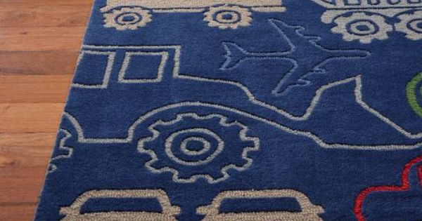 Trucks And Tractors Carpet From Pbk Pottery Barn Kids