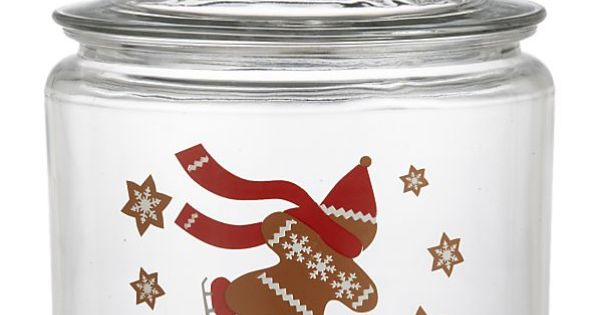 Gingerbread Man Cookie Jar In Food Containers Storage