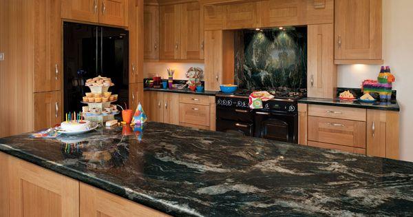 Glossy Black Storm Axiom Formica Laminated Worktop Kitchen Design Interior Kitchen