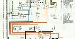 '66 and '67 VW Beetle Wiring Diagram | Beetle, Vw beetles and Beetles