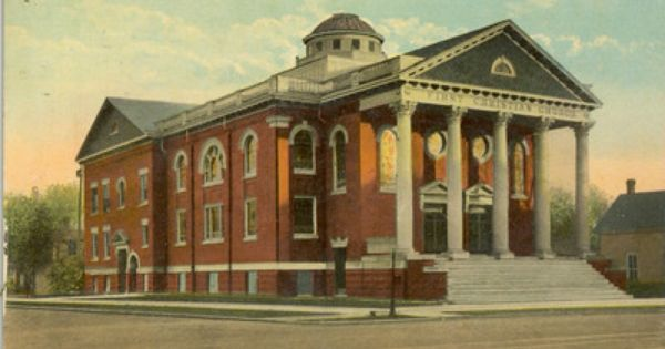First Christian Church, Hutchinson, Kansas, USA, Circa