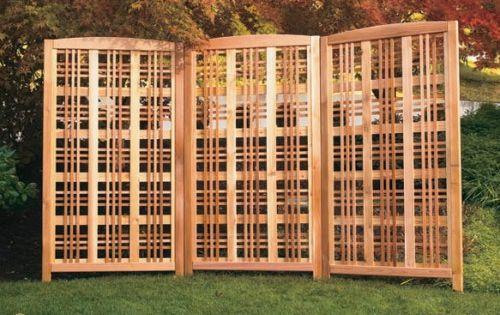 Wood Lattice Panels