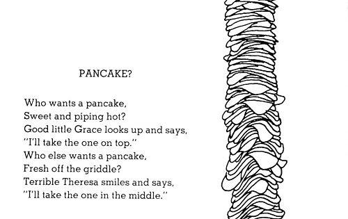 Pancake Shel Silverstein Short Poems