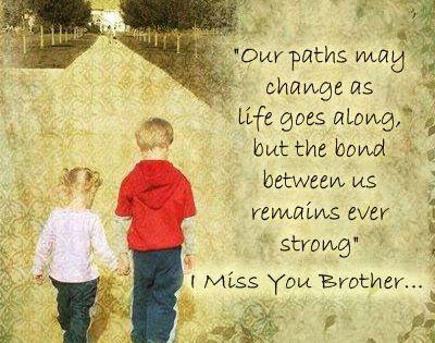 Brother Birthday Happy Heaven Quotes Big