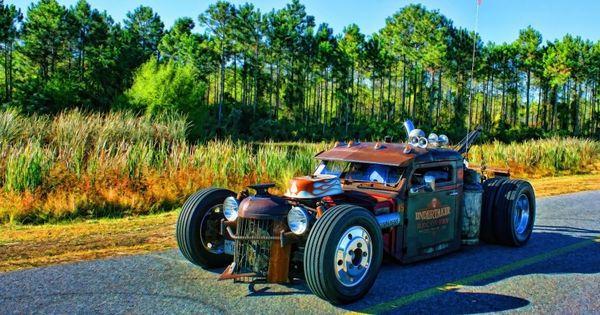 Diamond T Rat Rod Wrecker