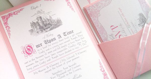 Disney Fairytale Wedding Invitations Google Search