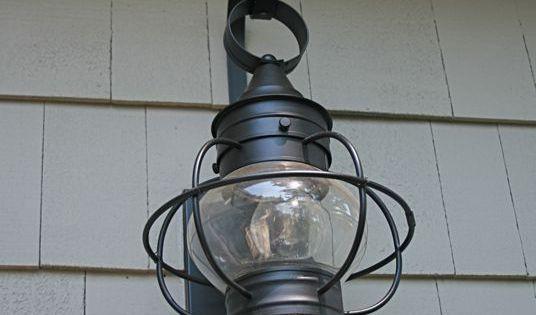 Exterior Light Fixtures, Cape Cod Style