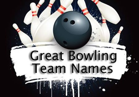 Funny Old Names Bowling Team Folks