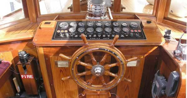 Inside An Old Boat Wheel House - Google Search