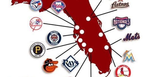 Map Of Florida Grapefruit League Locations